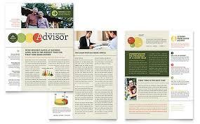 Microsoft Office Publisher Newsletter Templates Financial Services Newsletter Templates Word Publisher