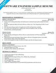 Sample Resume Format For Freshers Software Engineers Nice Software
