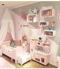 toddler girl bedrooms play kitchen