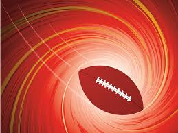 American Football Powerpoint Templates Red Sports Free