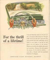 1950 chrysler fire power engine in chrysler vintage car vintage american cars
