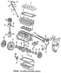 parts com® honda engine pistons rings bearings bearing 1988 honda prelude 2 0 si l4 2 0 liter gas pistons rings bearings