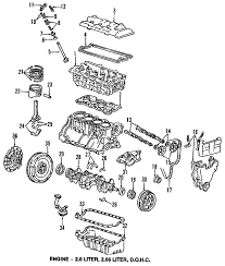 parts com® honda engine cylinder head valves valve lifters 1990 honda prelude si l4 2 1 liter gas cylinder head valves