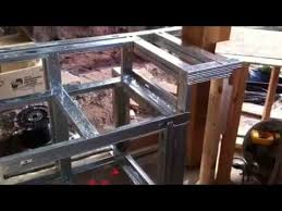 building an outdoor kitchen how to build an outdoor kitchen with steel