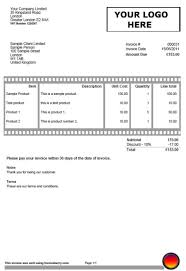 Sample Invoices Created With Our Online Invoicing Software