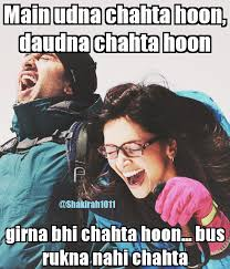 One Of The Best Dialogues From YJHD D Fav Movie Quotes Delectable Best Quotes Movie Bollywood