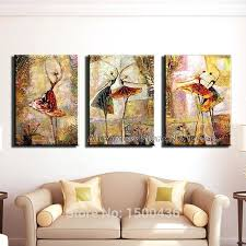 three piece wall art sets hand painted modern 2 pieces wall art canvas painting regular three piece wall art sets