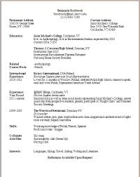 What Goes On A Resume Delectable What Goes On A Resume 60 Into 60 Nardellidesign Com How To List