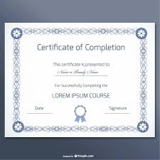 Psd Certificate Template Certificate Of Completion Template Free Psd Fresh Template Diploma 8