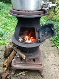 permalink to mesmerizing outdoor pot belly fireplace