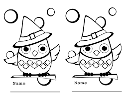 Small Picture Halloween Owl Coloring Pages Fun for Halloween