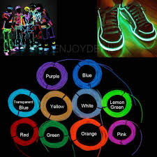 What Are The Colors Of Led Lights Waterproof Resistant 1m 2m 3m 5m Flexible Neon 10 Colors Led Lights Glowing El Wire Led Strip Tube Car Dance Party Decoration