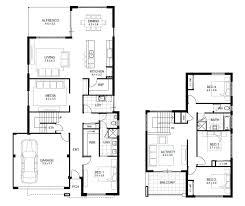 garage good looking floor plans for 4 bedroom homes 7 2 story