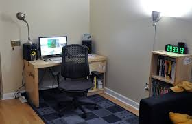 small office setup. The Top Charming Home Office Setup Picture With Small Design F