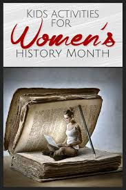 Womens History Month Activities For Kids