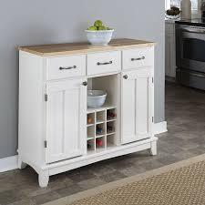 buffet server furniture. Kings Brand Furniture Buffet Cabinet, Antique White/Walnut Server N