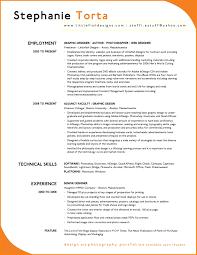 9 Successful Resume Examples Write Memorandum