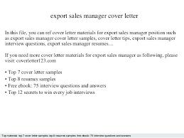 Sample Operation Manager Cover Letter Director Job Description ...