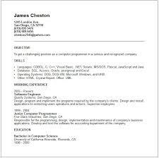 Oracle Developer Sample Resume Computer Engineer Sample Resume