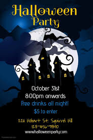Halloween Party Flyer Social Media Post Template