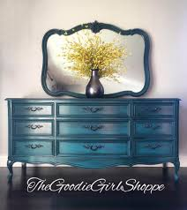dreamy peacock dresser