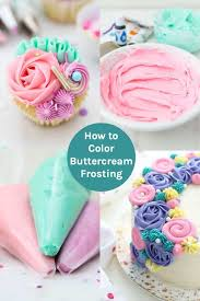 How To Color Buttercream Frosting Beyond Frosting