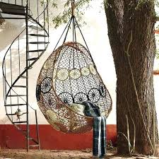 macrame hammock chair hanging chairs for outdoor living spaces macrame hanging chair diy