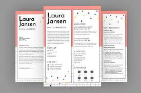 Vote Cv Resume Designer Resume Templates Creative Market