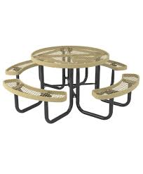 l series picnic table round portable home picnic tables round picnic tables