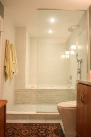 home design small tub shower combo neat idea for long narrow baths to make them seem small bathroom remodel