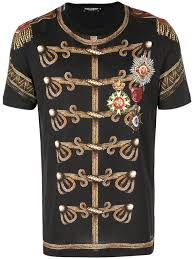 T-shirts T-shirt - G8hl0thp7s3 Choice Hnd50 2017 Warm To Print Win Irregular Dolce From Gabbana Military Praise Men's amp; Customers