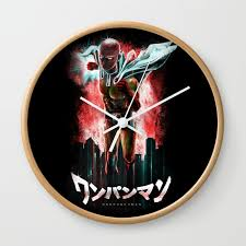valuable fun wall clocks the epic hero just for clock by jollyappleskull society6 uk canada kitchen colorful cool