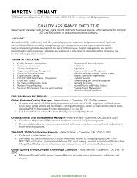 Complex Quality Manager Resume Objective Examples Quality Assurance