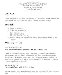 Free Blank Resume Templates For Microsoft Word Fascinating Sample Resume In Pdf Data Entry Resume Design Blank Resume Format