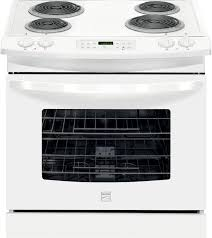 How To Fix A Stove Kenmore 42502 42 Cu Ft Self Clean Drop In Electric Range White
