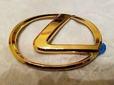 gold lexus logo. Simple Logo Lexus ES Gold Logo Front Emblem PT57733010 Nos Oem Throughout Gold Lexus Logo W