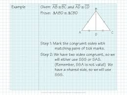 Triangle Proofs 2 6 3 Congruent Triangle Proofs