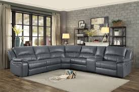 8260gy 6pc 6 pc falun gray leather gel