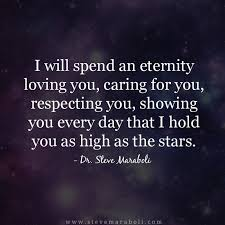 Loving You Quotes Stunning Quote By Steve Maraboli €�I Will Spend An Eternity Loving You