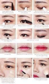 eye makeup asian makeup tutorials and asian korean makeup make gradation on eyes use your korean style natural eye makeup an error occurred