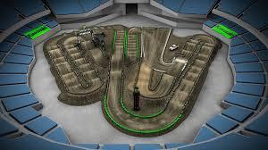 2016 Monster Energy Supercross Track Maps