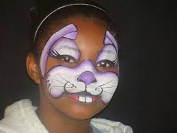 Small Picture Fast bunny face painting ideas for kids Face Paint fast and fun