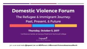 Domestic Violence Forum Powerpoint Tapestri