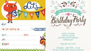 Birthday Invitations Printable 15 Free Printable Childrens Birthday Party Invitations Sp