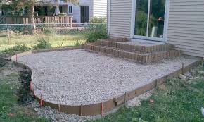 patio raised concrete patio ideas home design the inspirations photo concept