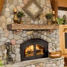 rustic fireplace mantel shelf decorative shelves throughout mantels plans 1