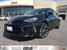 2017 Toyota Corolla SE Upgrade Package - Brampton ON - Attrell ...