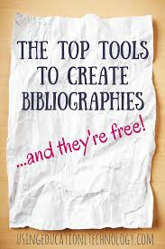 3 Great Tools For Creating Bibliographies