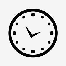 Vector Horloge Icône, Horloge Clipart, Horloge Des Icônes, L'horloge PNG et  vecteur pour téléchargement gratuit
