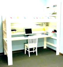 O Desk Bed Combo Loft Beds Bunk  Room And Canada